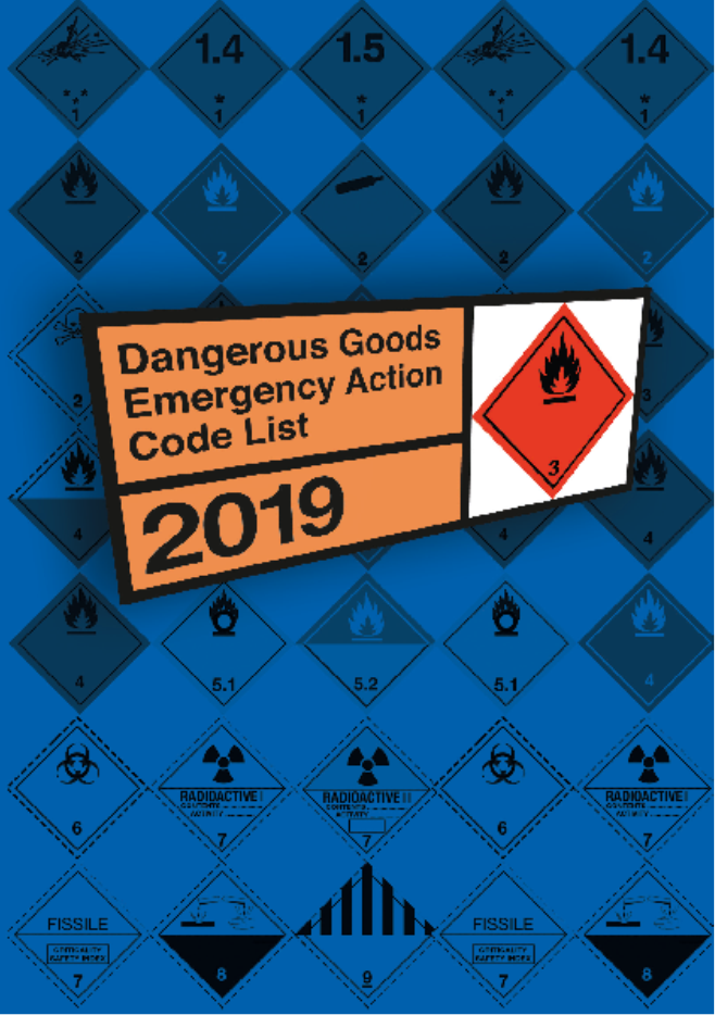 The Dangerous Goods Emergency Action Code List 2019