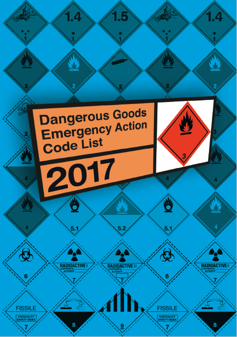 The Dangerous Goods Emergency Action Code List 2017