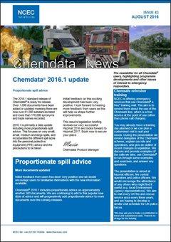 Chemdata News - August 2016
