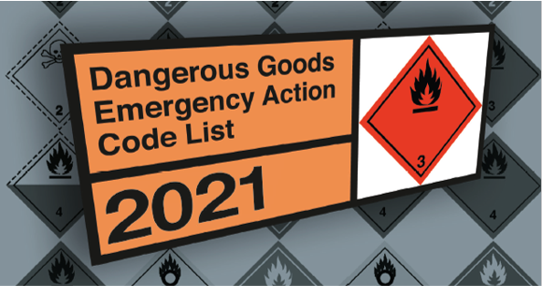 The Dangerous Goods Emergency Action Code List 2021 is now available