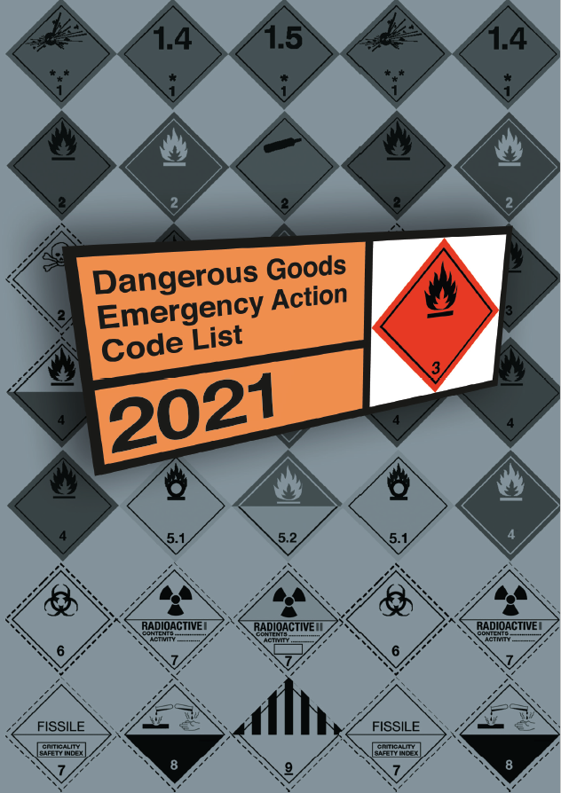 The Dangerous Goods Emergency Action Code List 2021
