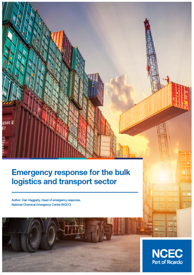 Emergency response for the bulk logistics and transport sector