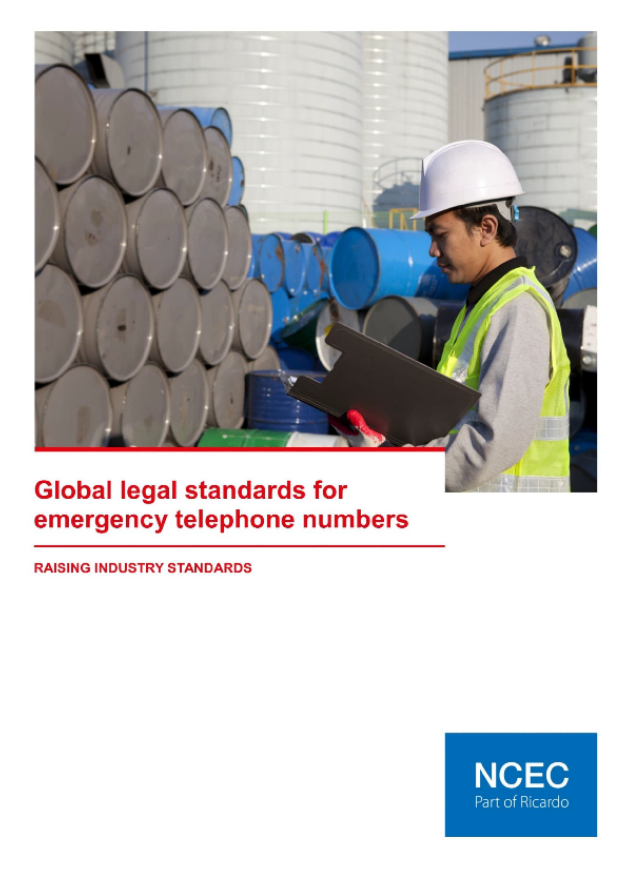 Global legal standards for emergency telephone numbers (May 2018 Edition)