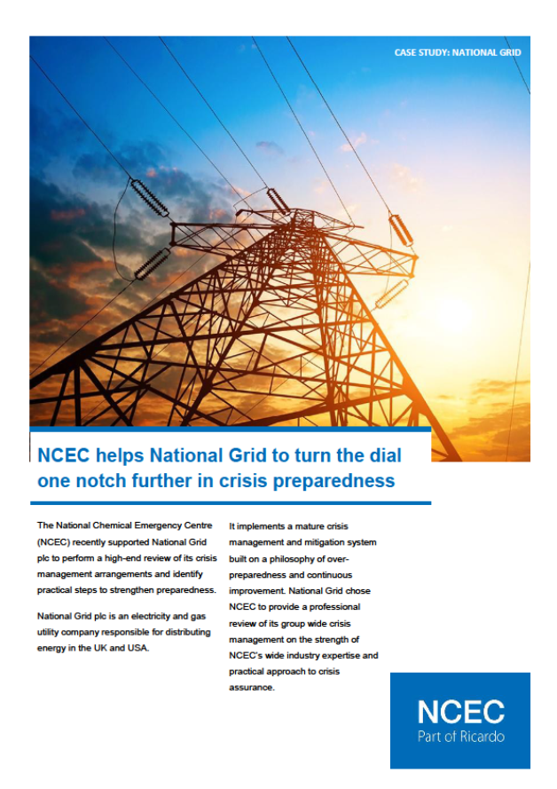 National Grid case study