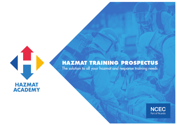 NCEC's Hazmat Academy training prospectus