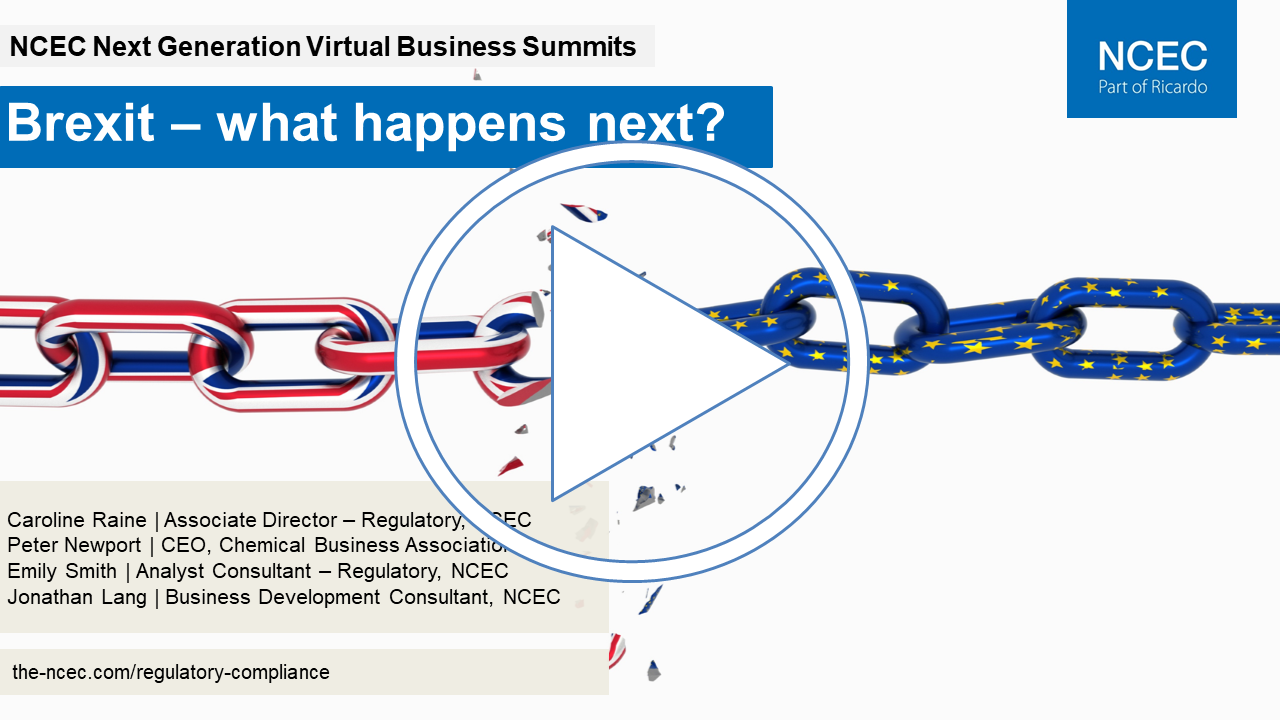 Next Generation Virtual Business Summit: Brexit – what happens next?