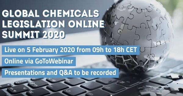 Global Chemicals Legislation Online Summit 2020