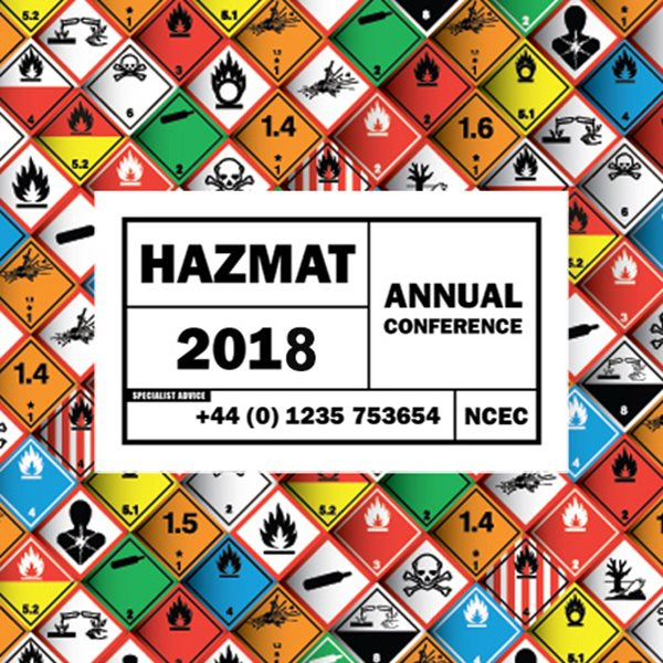 Programme announced for Hazmat 2018